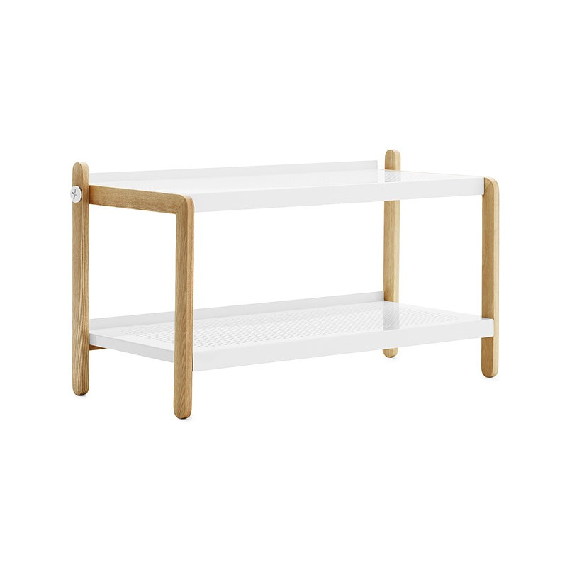 Normann Copenhagen Sko Shoe Rack by Simon Legald Olson and Baker - Designer & Contemporary Sofas, Furniture - Olson and Baker showcases original designs from authentic, designer brands. Buy contemporary furniture, lighting, storage, sofas & chairs at Olson + Baker.