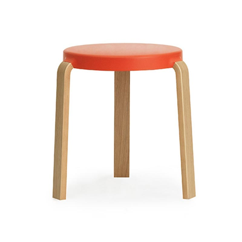 Normann Copenhagen Tap Stool by Simon Legald Olson and Baker - Designer & Contemporary Sofas, Furniture - Olson and Baker showcases original designs from authentic, designer brands. Buy contemporary furniture, lighting, storage, sofas & chairs at Olson + Baker.