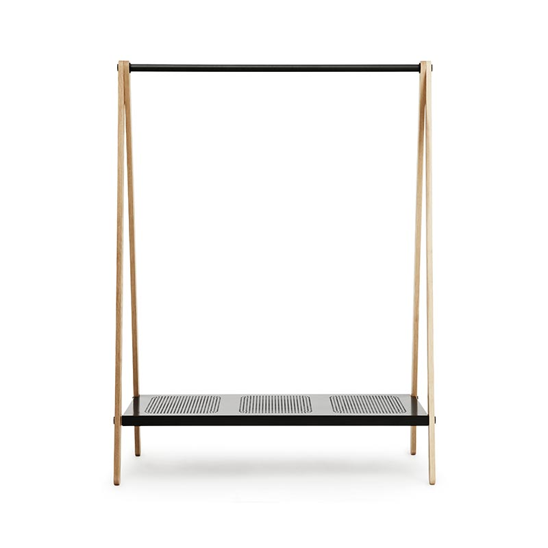 Normann Copenhagen Toj Clothes Rack by Simon Legald Olson and Baker - Designer & Contemporary Sofas, Furniture - Olson and Baker showcases original designs from authentic, designer brands. Buy contemporary furniture, lighting, storage, sofas & chairs at Olson + Baker.