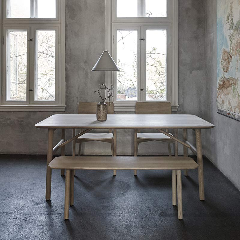 Skagerak-Hven-Bench-by-Anton-Bjorsing-1 Olson and Baker - Designer & Contemporary Sofas, Furniture - Olson and Baker showcases original designs from authentic, designer brands. Buy contemporary furniture, lighting, storage, sofas & chairs at Olson + Baker.
