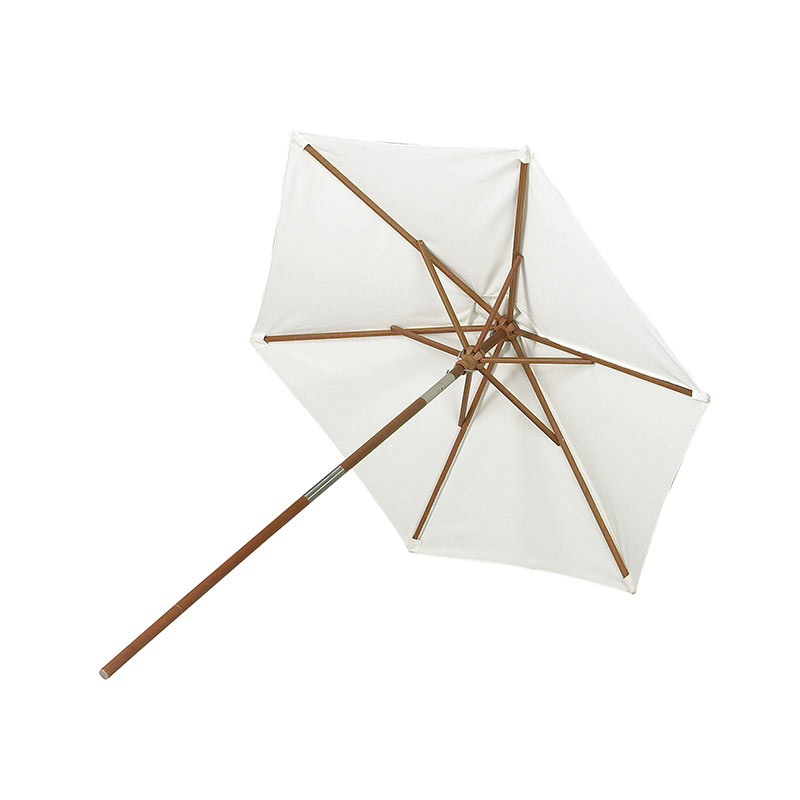 Skagerak Messina Round Parasol by Skagerak Studio Olson and Baker - Designer & Contemporary Sofas, Furniture - Olson and Baker showcases original designs from authentic, designer brands. Buy contemporary furniture, lighting, storage, sofas & chairs at Olson + Baker.