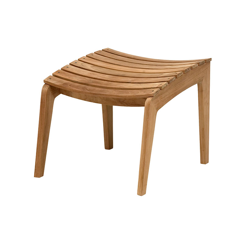 Skagerak Regatta Lounge Stool by Hans Thyge & Co. Olson and Baker - Designer & Contemporary Sofas, Furniture - Olson and Baker showcases original designs from authentic, designer brands. Buy contemporary furniture, lighting, storage, sofas & chairs at Olson + Baker.