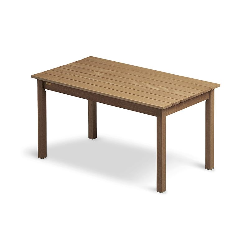 Skagerak Skagen 140x78cm Table by Mogens Holmriis Olson and Baker - Designer & Contemporary Sofas, Furniture - Olson and Baker showcases original designs from authentic, designer brands. Buy contemporary furniture, lighting, storage, sofas & chairs at Olson + Baker.