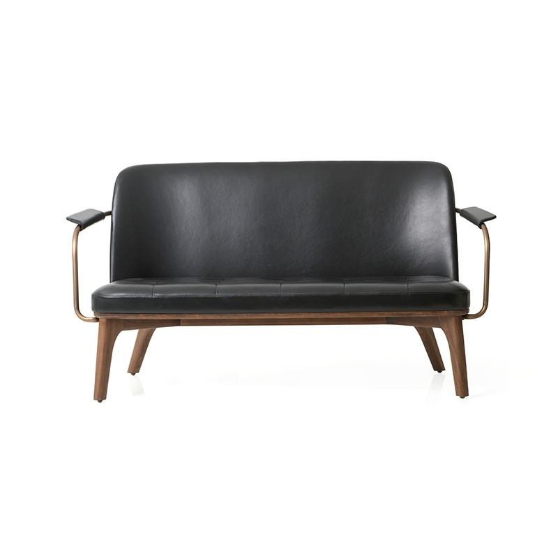 Stellar Works Utility Two Seat Sofa by Neri&Hu Olson and Baker - Designer & Contemporary Sofas, Furniture - Olson and Baker showcases original designs from authentic, designer brands. Buy contemporary furniture, lighting, storage, sofas & chairs at Olson + Baker.