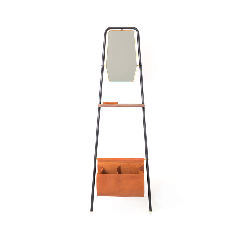 Stellar Works Valet Leaning Floor Mirror by David Rockwell