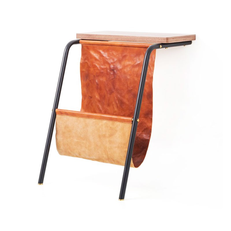 Stellar Works Valet Magazine Rack by David Rockwell Olson and Baker - Designer & Contemporary Sofas, Furniture - Olson and Baker showcases original designs from authentic, designer brands. Buy contemporary furniture, lighting, storage, sofas & chairs at Olson + Baker.