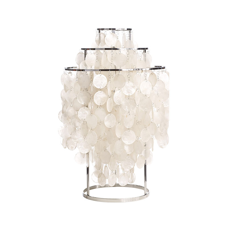 Verpan Fun 1TM Table Lamp by Verner Panton Olson and Baker - Designer & Contemporary Sofas, Furniture - Olson and Baker showcases original designs from authentic, designer brands. Buy contemporary furniture, lighting, storage, sofas & chairs at Olson + Baker.