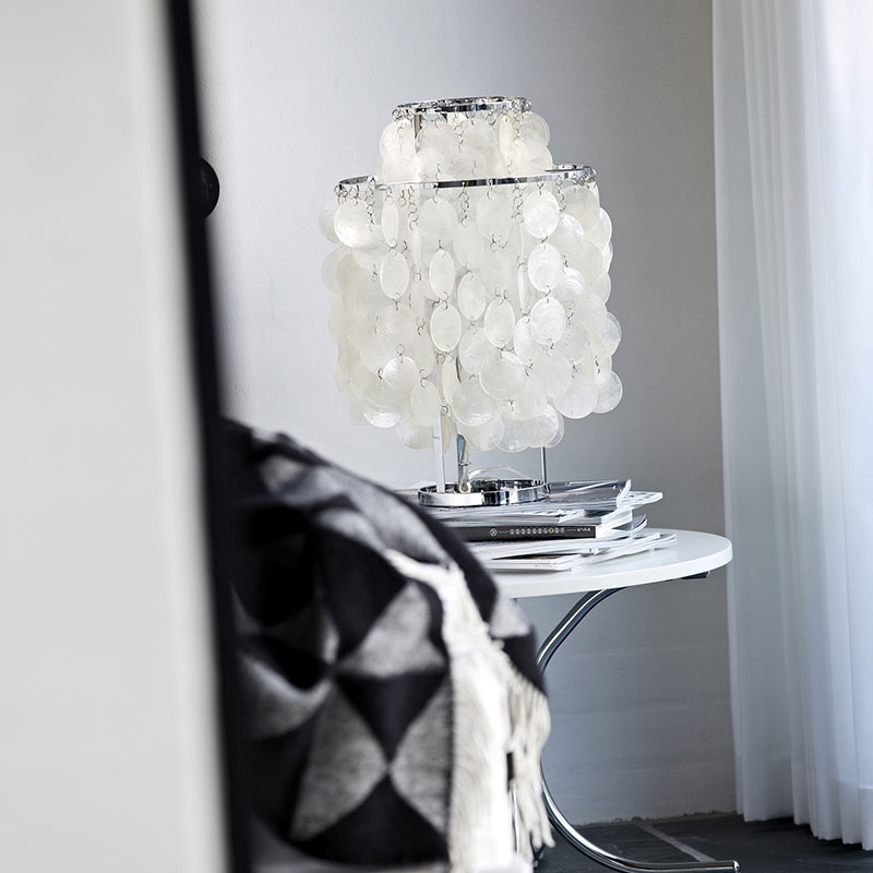 Verpan-Fun-2TM-Table-Lamp-by-Verner-Panton-1 Olson and Baker - Designer & Contemporary Sofas, Furniture - Olson and Baker showcases original designs from authentic, designer brands. Buy contemporary furniture, lighting, storage, sofas & chairs at Olson + Baker.