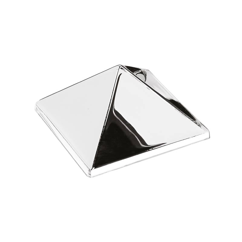 Verpan Mirror Sculpture with One Pyramid by Verner Panton