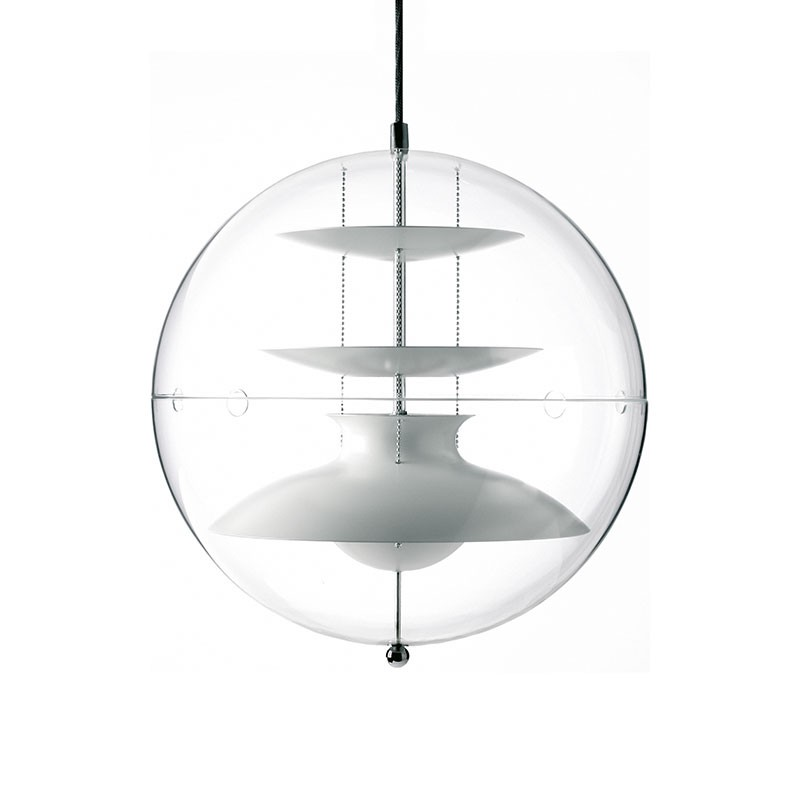Verpan Panto Pendant Light by Verner Panton Olson and Baker - Designer & Contemporary Sofas, Furniture - Olson and Baker showcases original designs from authentic, designer brands. Buy contemporary furniture, lighting, storage, sofas & chairs at Olson + Baker.