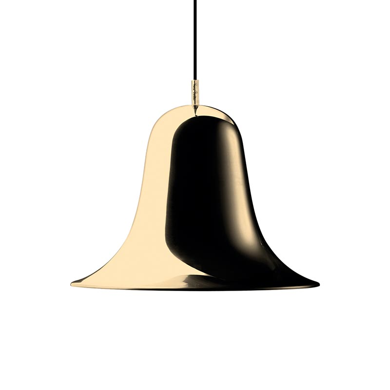 Verpan Pantop Pendant Light in Brass by Verner Panton Olson and Baker - Designer & Contemporary Sofas, Furniture - Olson and Baker showcases original designs from authentic, designer brands. Buy contemporary furniture, lighting, storage, sofas & chairs at Olson + Baker.