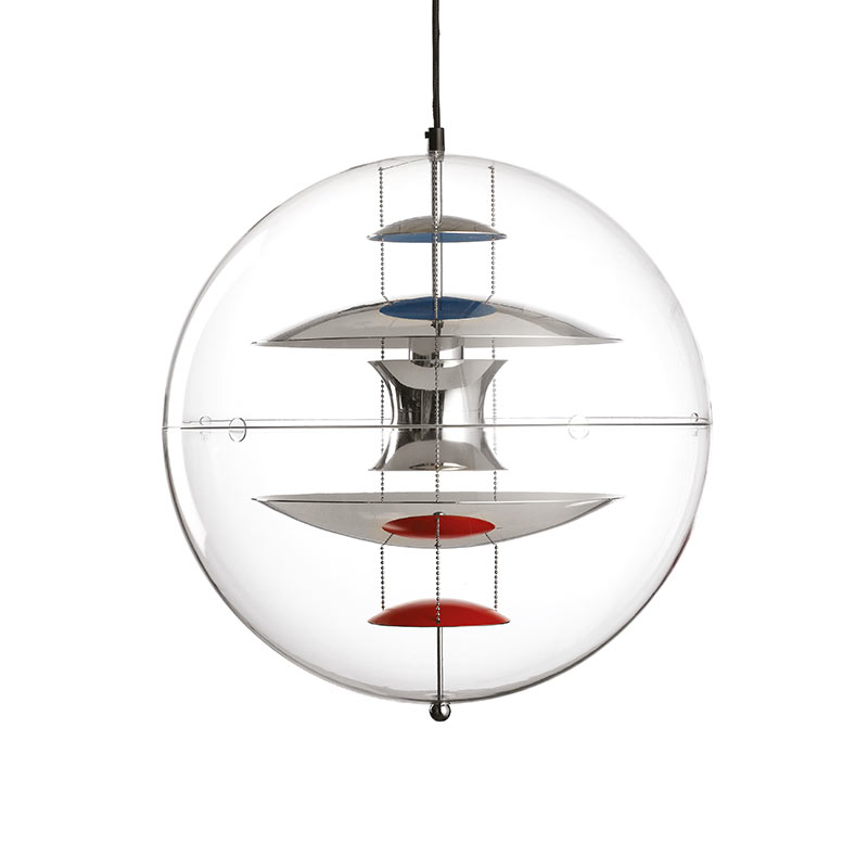 Verpan VP Globe Pendant Light by Verner Panton Olson and Baker - Designer & Contemporary Sofas, Furniture - Olson and Baker showcases original designs from authentic, designer brands. Buy contemporary furniture, lighting, storage, sofas & chairs at Olson + Baker.