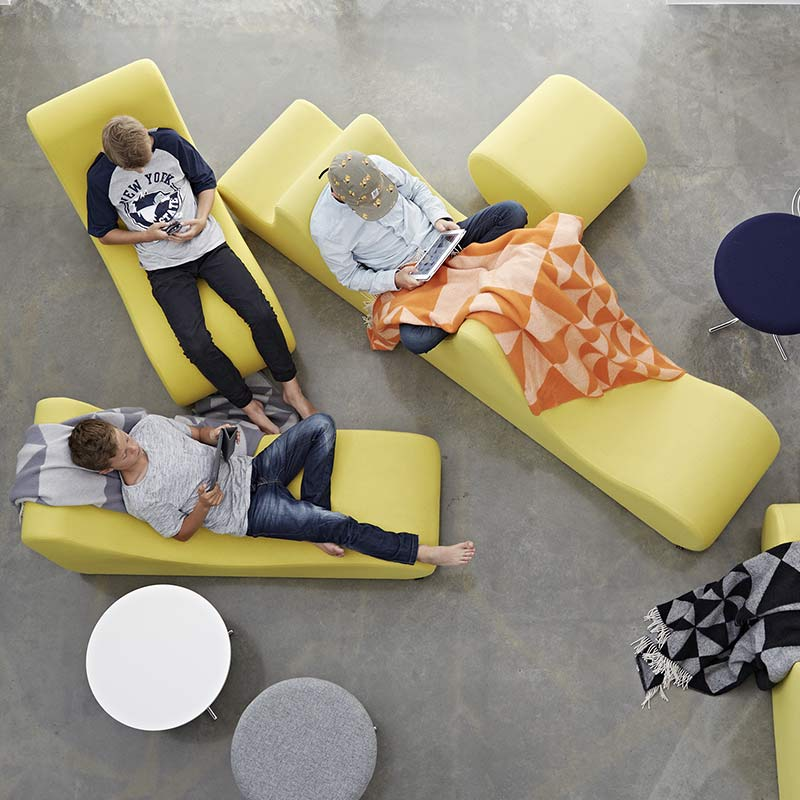 Verpan-Welle-2-by-Verner-Panton-1 Olson and Baker - Designer & Contemporary Sofas, Furniture - Olson and Baker showcases original designs from authentic, designer brands. Buy contemporary furniture, lighting, storage, sofas & chairs at Olson + Baker.