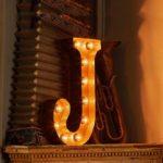 Vintage-Letter-Lights-Vintage-Letter-Light-J-by-Vintage-Letter-Lights-1 Olson and Baker - Designer & Contemporary Sofas, Furniture - Olson and Baker showcases original designs from authentic, designer brands. Buy contemporary furniture, lighting, storage, sofas & chairs at Olson + Baker.