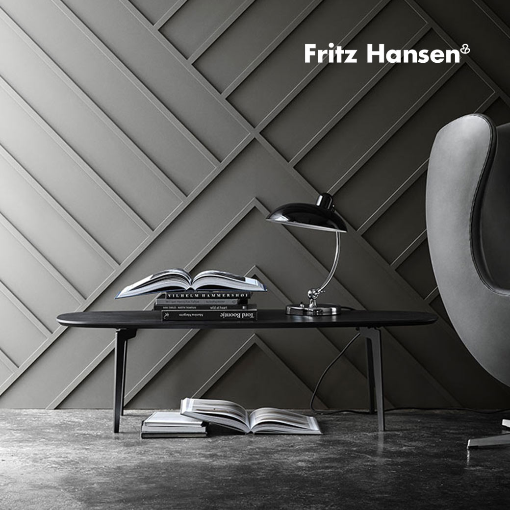 Blog image Behind the Brand | Fritz Hansen Olson and Baker - Designer & Contemporary Sofas, Furniture - Olson and Baker showcases original designs from authentic, designer brands. Buy contemporary furniture, lighting, storage, sofas & chairs at Olson + Baker.