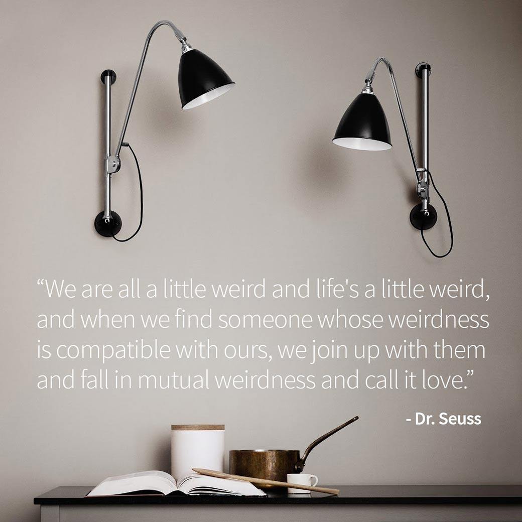 Blog image Just Because | Share a Dr Suess Quote! Olson and Baker - Designer & Contemporary Sofas, Furniture - Olson and Baker showcases original designs from authentic, designer brands. Buy contemporary furniture, lighting, storage, sofas & chairs at Olson + Baker.