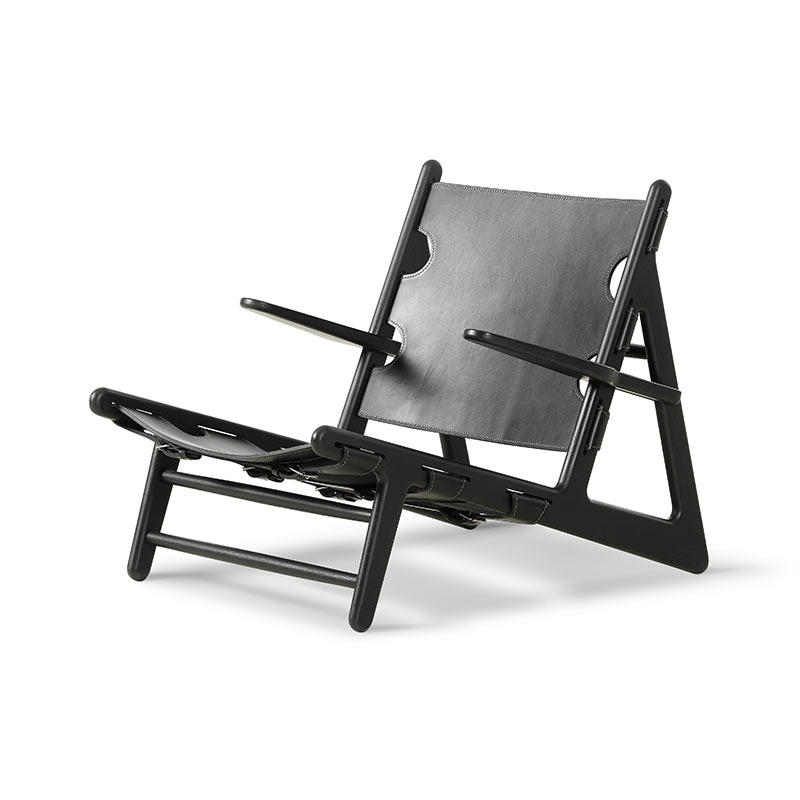 Fredericia Hunting Lounge Chair by Borge Mogensen Olson and Baker - Designer & Contemporary Sofas, Furniture - Olson and Baker showcases original designs from authentic, designer brands. Buy contemporary furniture, lighting, storage, sofas & chairs at Olson + Baker.