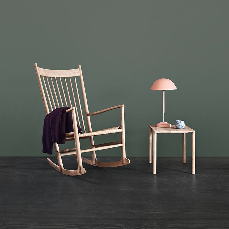 Fredericia J16 Rocking Chair in Natural paper cord by Hans Wegner (3) Olson and Baker - Designer & Contemporary Sofas, Furniture - Olson and Baker showcases original designs from authentic, designer brands. Buy contemporary furniture, lighting, storage, sofas & chairs at Olson + Baker.