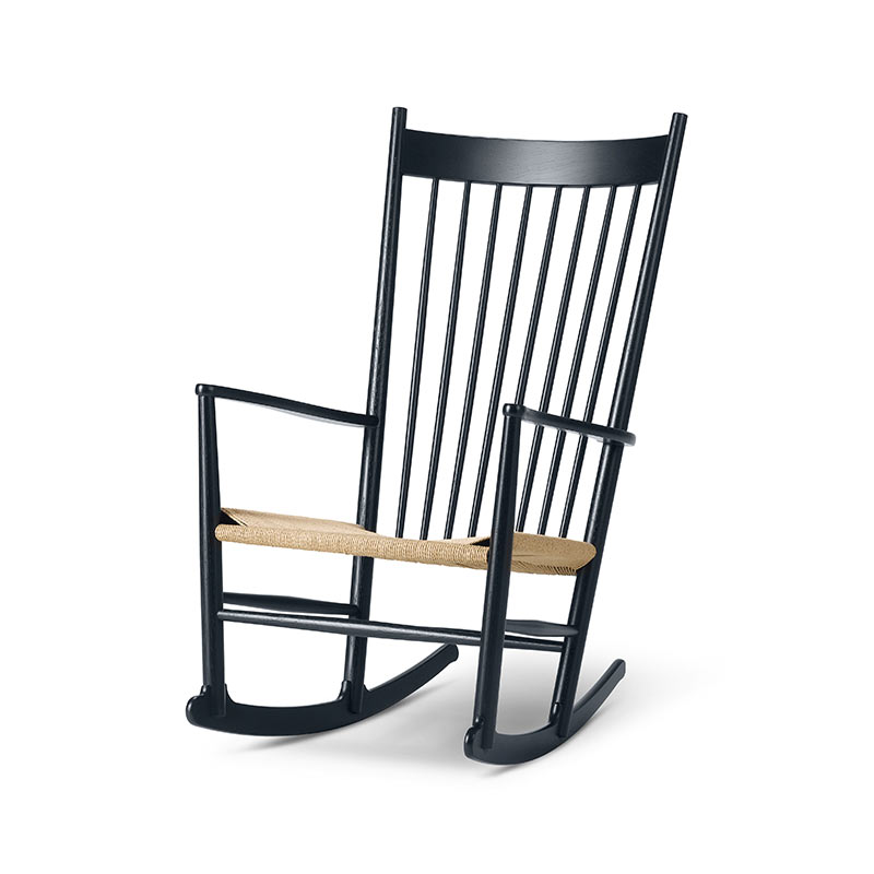 Fredericia J16 Rocking Chair by Hans Wegner Olson and Baker - Designer & Contemporary Sofas, Furniture - Olson and Baker showcases original designs from authentic, designer brands. Buy contemporary furniture, lighting, storage, sofas & chairs at Olson + Baker.