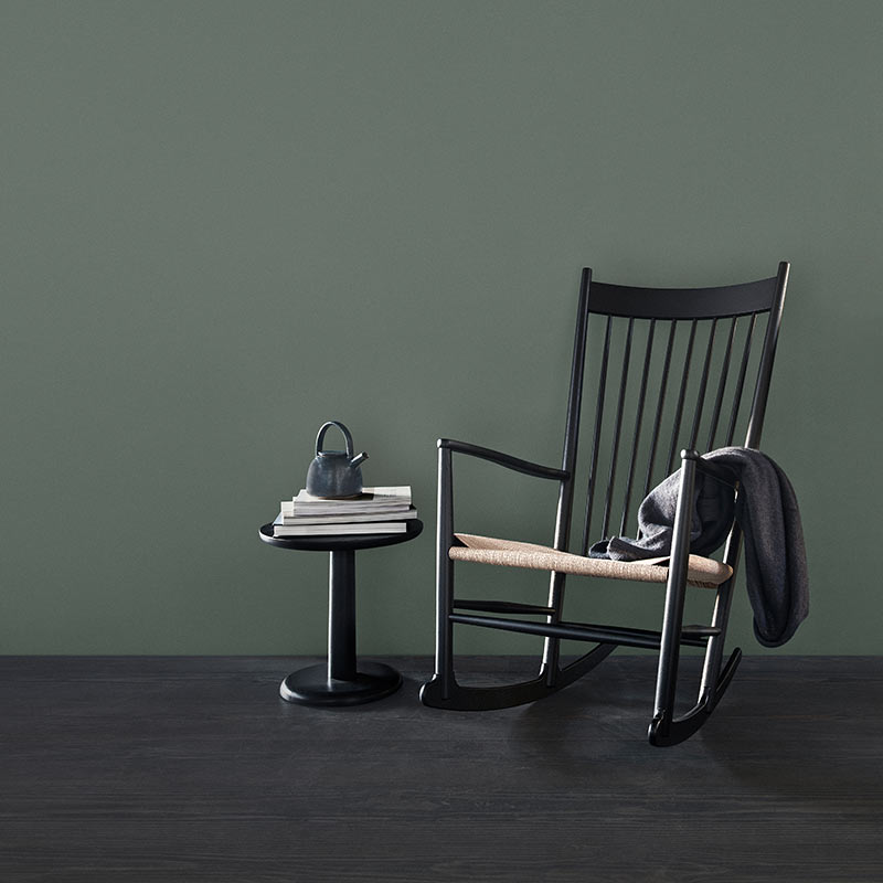 Fredericia J16 Rocking Chair in Natural paper cord by Hans Wegner (6`) Olson and Baker - Designer & Contemporary Sofas, Furniture - Olson and Baker showcases original designs from authentic, designer brands. Buy contemporary furniture, lighting, storage, sofas & chairs at Olson + Baker.