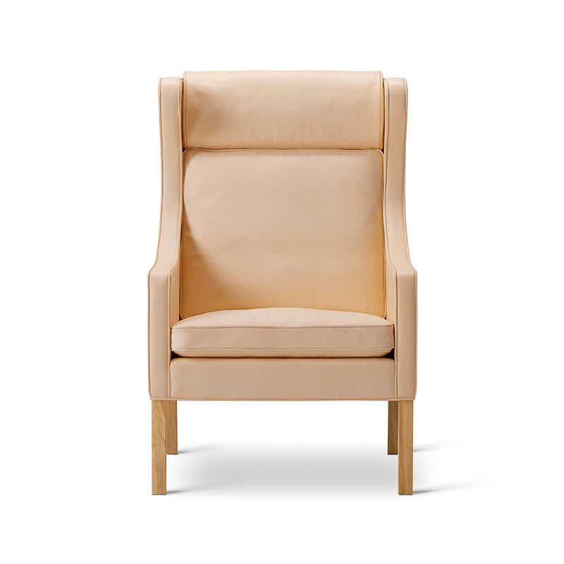 Fredericia Select 2204 Wing Chair by Borge Mogensen Olson and Baker - Designer & Contemporary Sofas, Furniture - Olson and Baker showcases original designs from authentic, designer brands. Buy contemporary furniture, lighting, storage, sofas & chairs at Olson + Baker.