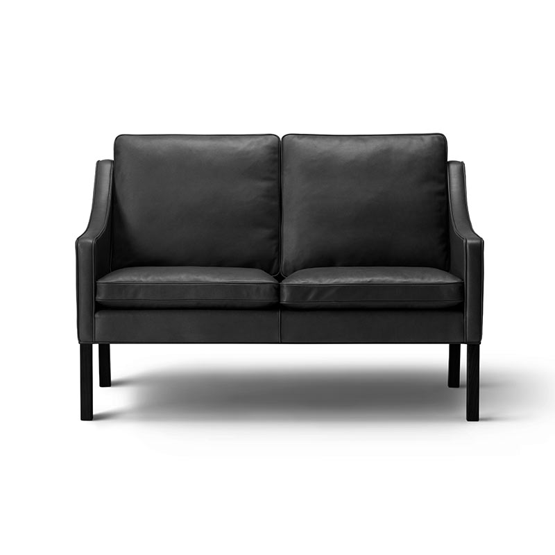 Fredericia Select 2208 Two Seat Sofa by Borge Mogensen Olson and Baker - Designer & Contemporary Sofas, Furniture - Olson and Baker showcases original designs from authentic, designer brands. Buy contemporary furniture, lighting, storage, sofas & chairs at Olson + Baker.