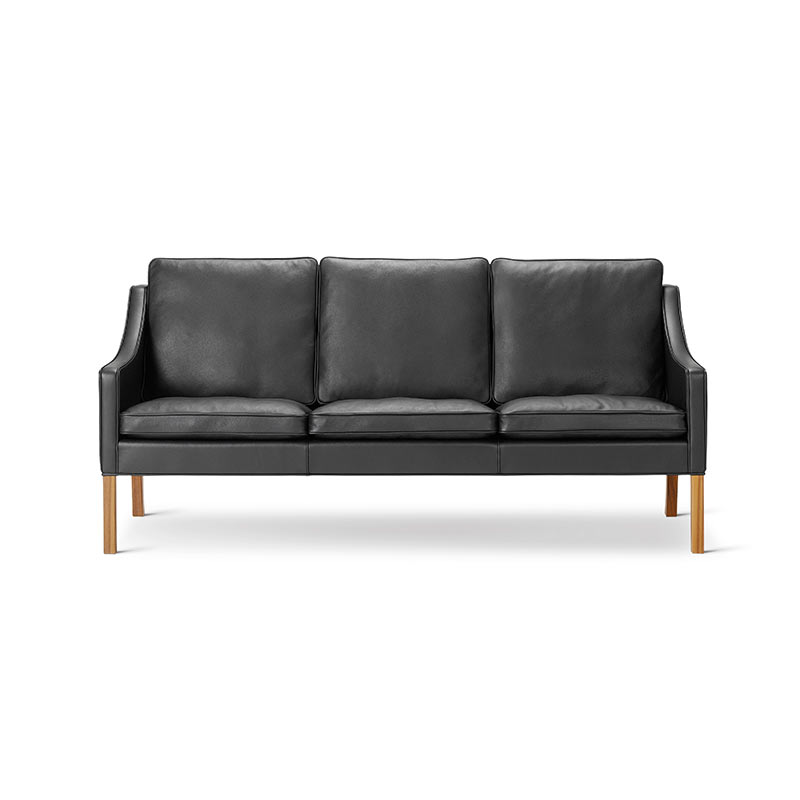 Fredericia Select 2209 Three Seat Sofa by Borge Mogensen Olson and Baker - Designer & Contemporary Sofas, Furniture - Olson and Baker showcases original designs from authentic, designer brands. Buy contemporary furniture, lighting, storage, sofas & chairs at Olson + Baker.