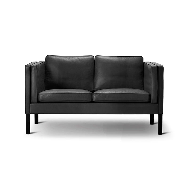 Fredericia Select 2332 Two Seat Sofa by Borge Mogensen Olson and Baker - Designer & Contemporary Sofas, Furniture - Olson and Baker showcases original designs from authentic, designer brands. Buy contemporary furniture, lighting, storage, sofas & chairs at Olson + Baker.