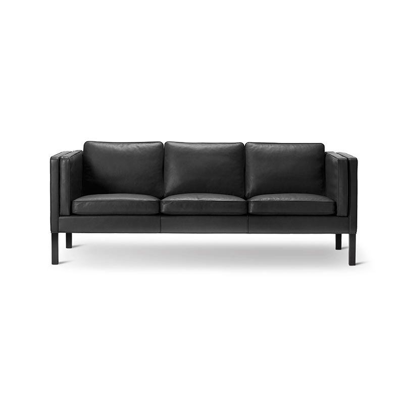 Fredericia Select 2333 Three Seat Sofa by Borge Mogensen Olson and Baker - Designer & Contemporary Sofas, Furniture - Olson and Baker showcases original designs from authentic, designer brands. Buy contemporary furniture, lighting, storage, sofas & chairs at Olson + Baker.
