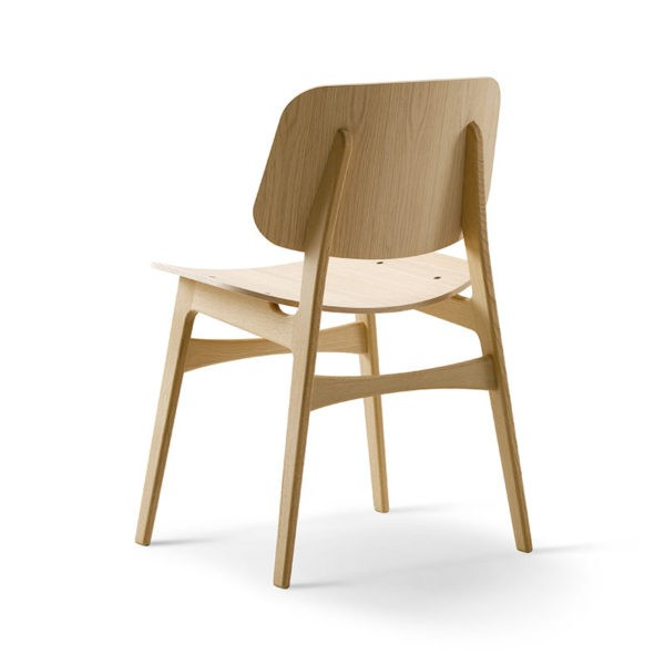 Soborg Chair with Wooden Base