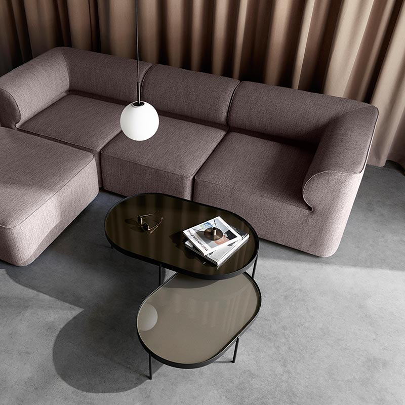 Menu Eave Modular Three Seat Sofa by Norm Architects (4) Olson and Baker - Designer & Contemporary Sofas, Furniture - Olson and Baker showcases original designs from authentic, designer brands. Buy contemporary furniture, lighting, storage, sofas & chairs at Olson + Baker.