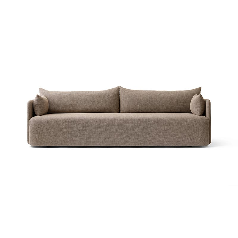 Menu Offset Three Seat Sofa by Norm Architects Olson and Baker - Designer & Contemporary Sofas, Furniture - Olson and Baker showcases original designs from authentic, designer brands. Buy contemporary furniture, lighting, storage, sofas & chairs at Olson + Baker.