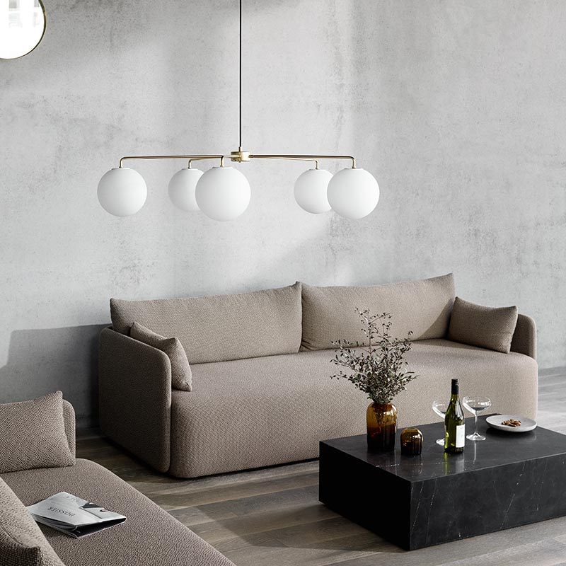 Menu Offset Two Seat Sofa by Norm Architects (3) Olson and Baker - Designer & Contemporary Sofas, Furniture - Olson and Baker showcases original designs from authentic, designer brands. Buy contemporary furniture, lighting, storage, sofas & chairs at Olson + Baker.
