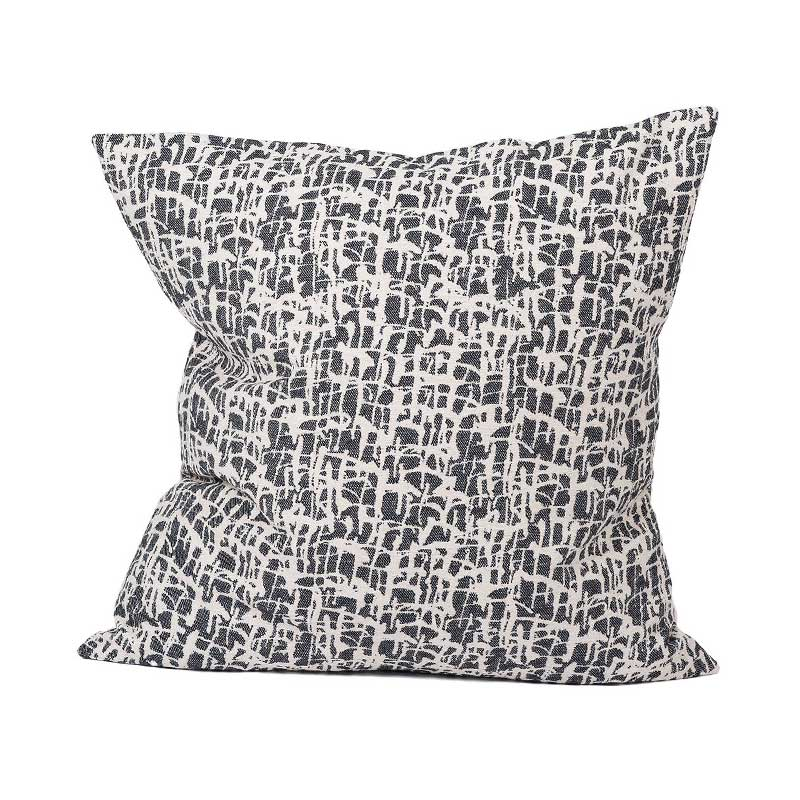Tori Murphy Boulder Cushion Black by Tori Murphy Olson and Baker - Designer & Contemporary Sofas, Furniture - Olson and Baker showcases original designs from authentic, designer brands. Buy contemporary furniture, lighting, storage, sofas & chairs at Olson + Baker.