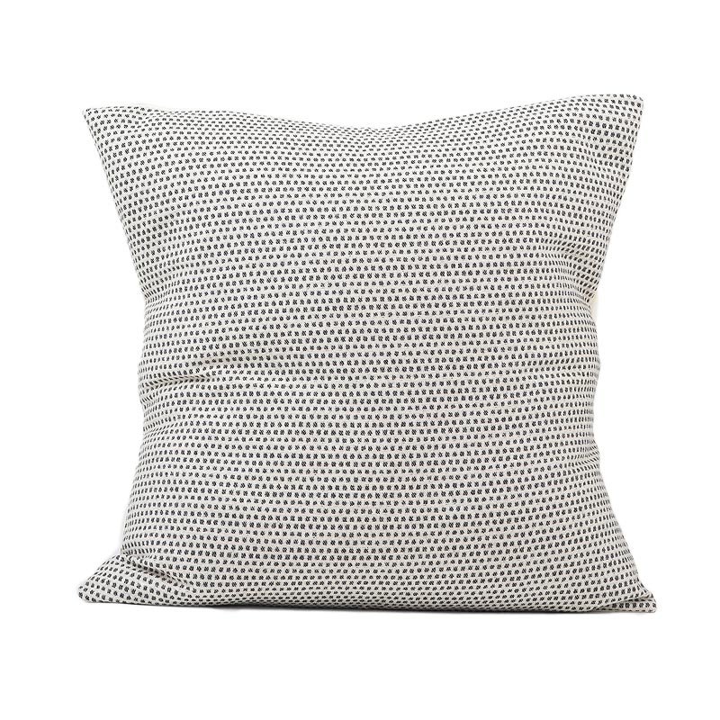 Tori Murphy Classic Clarendon Cushion Black on Linen by Tori Murphy