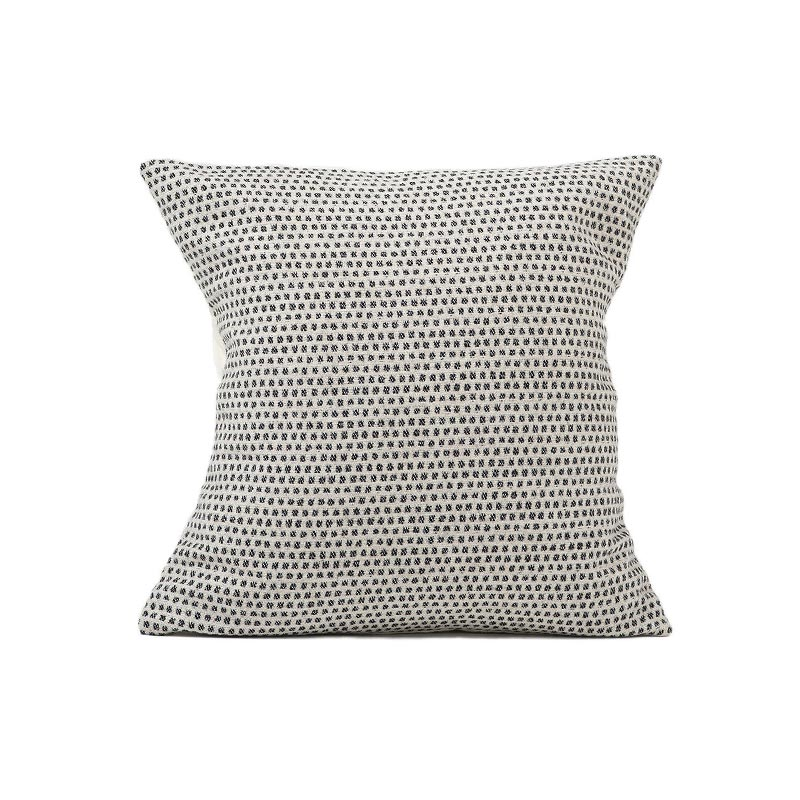 Tori Murphy Classic Clarendon Cushion Black on Linen by Tori Murphy Olson and Baker - Designer & Contemporary Sofas, Furniture - Olson and Baker showcases original designs from authentic, designer brands. Buy contemporary furniture, lighting, storage, sofas & chairs at Olson + Baker.