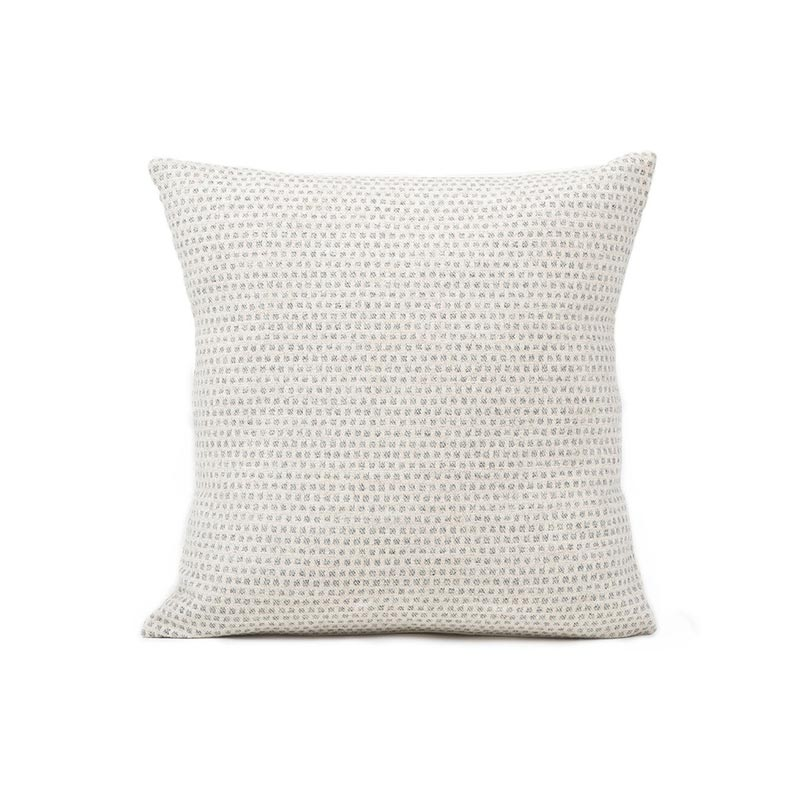 Tori Murphy Classic Clarendon Cushion Grey on Linen by Tori Murphy Olson and Baker - Designer & Contemporary Sofas, Furniture - Olson and Baker showcases original designs from authentic, designer brands. Buy contemporary furniture, lighting, storage, sofas & chairs at Olson + Baker.