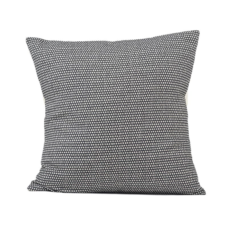 Tori Murphy Classic Clarendon Cushion Linen on Black by Tori Murphy Olson and Baker - Designer & Contemporary Sofas, Furniture - Olson and Baker showcases original designs from authentic, designer brands. Buy contemporary furniture, lighting, storage, sofas & chairs at Olson + Baker.