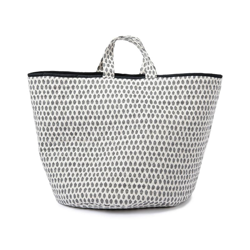 Tori Murphy Elca Storage Basket Black by Tori Murphy Olson and Baker - Designer & Contemporary Sofas, Furniture - Olson and Baker showcases original designs from authentic, designer brands. Buy contemporary furniture, lighting, storage, sofas & chairs at Olson + Baker.