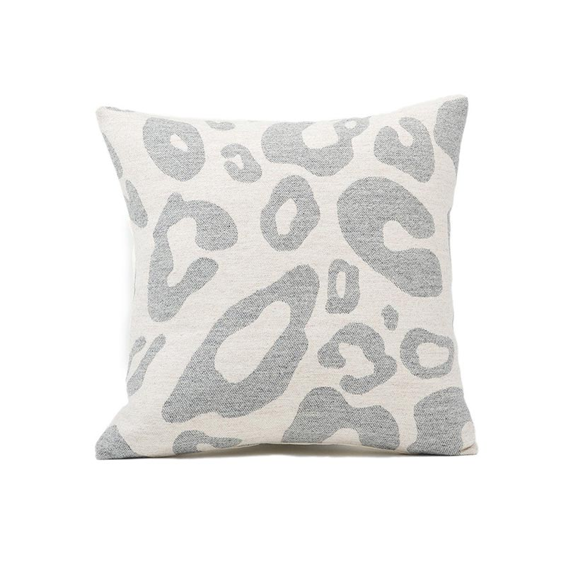 Tori Murphy Hamilton Large Spot Cushion Grey on Linen by Tori Murphy Olson and Baker - Designer & Contemporary Sofas, Furniture - Olson and Baker showcases original designs from authentic, designer brands. Buy contemporary furniture, lighting, storage, sofas & chairs at Olson + Baker.