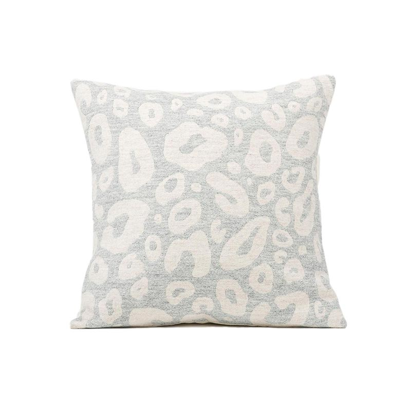 Tori Murphy Hamilton Small Spot Cushion Linen on Grey by Tori Murphy Olson and Baker - Designer & Contemporary Sofas, Furniture - Olson and Baker showcases original designs from authentic, designer brands. Buy contemporary furniture, lighting, storage, sofas & chairs at Olson + Baker.