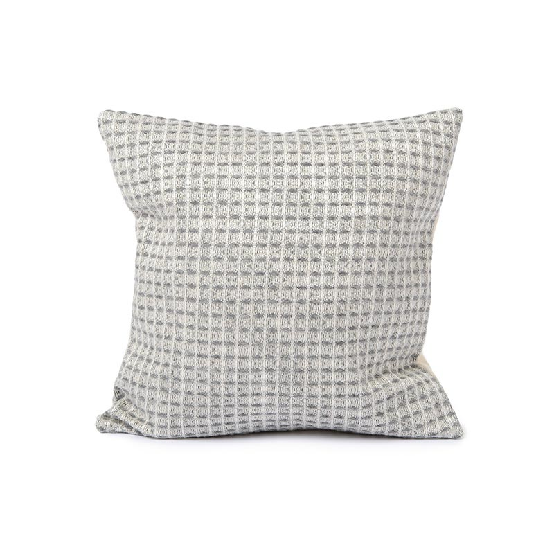 Tori Murphy Holkham Waffle Cushion Grey by Tori Murphy Olson and Baker - Designer & Contemporary Sofas, Furniture - Olson and Baker showcases original designs from authentic, designer brands. Buy contemporary furniture, lighting, storage, sofas & chairs at Olson + Baker.