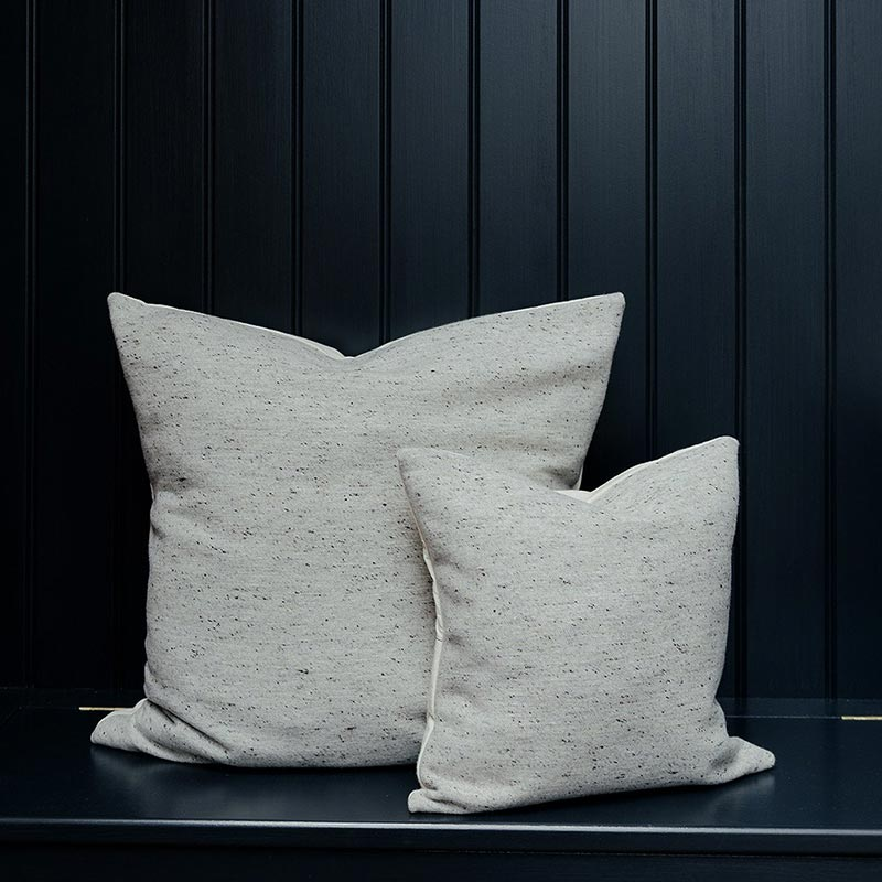 Tori Murphy Sandringham Plain Cushion Grey by Tori Murphy (3) Olson and Baker - Designer & Contemporary Sofas, Furniture - Olson and Baker showcases original designs from authentic, designer brands. Buy contemporary furniture, lighting, storage, sofas & chairs at Olson + Baker.