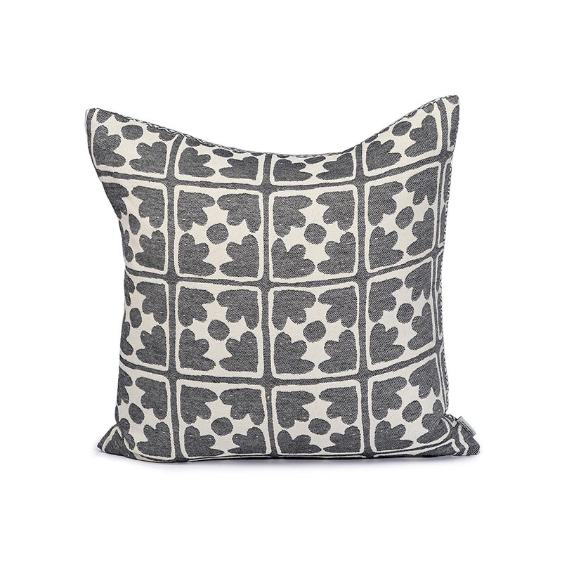 Tori Murphy Seedling & Bloom Cushion Black by Tori Murphy