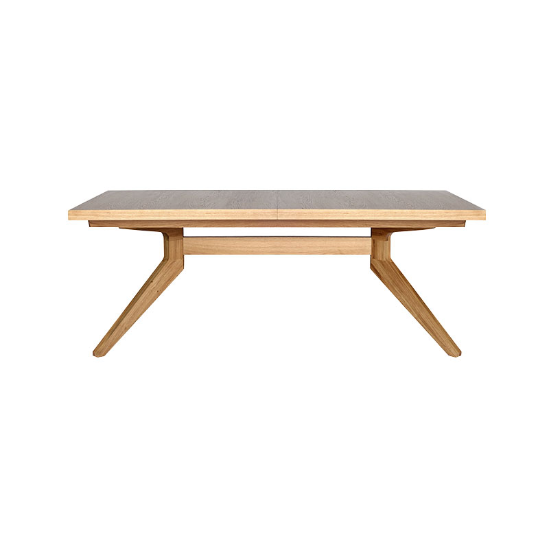 Case Furniture Cross Extendable Table by Matthew Hilton Olson and Baker - Designer & Contemporary Sofas, Furniture - Olson and Baker showcases original designs from authentic, designer brands. Buy contemporary furniture, lighting, storage, sofas & chairs at Olson + Baker.