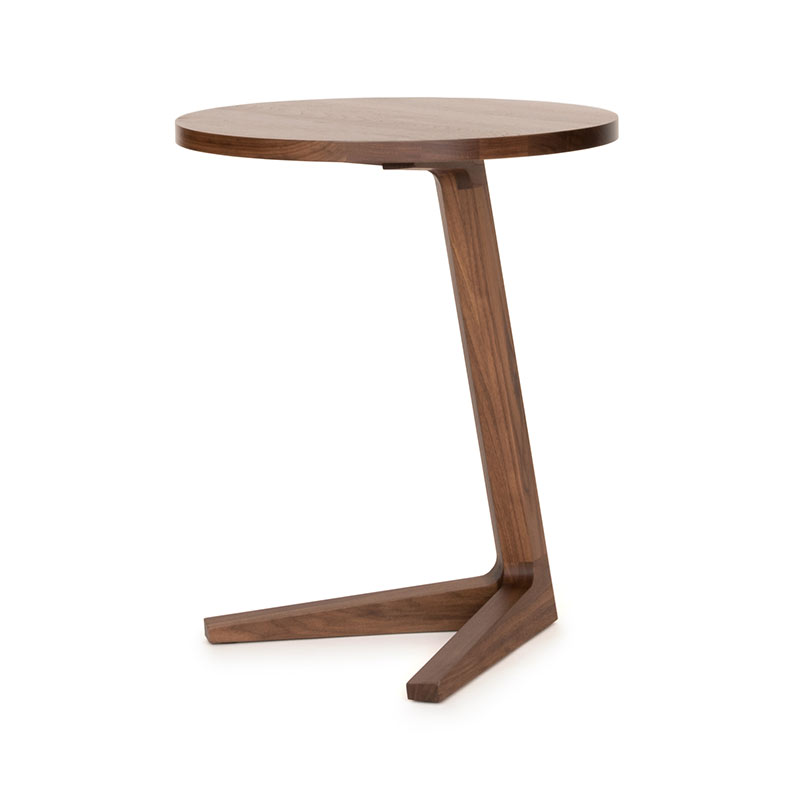 Case Furniture Cross Side Table by Matthew Hilton Olson and Baker - Designer & Contemporary Sofas, Furniture - Olson and Baker showcases original designs from authentic, designer brands. Buy contemporary furniture, lighting, storage, sofas & chairs at Olson + Baker.