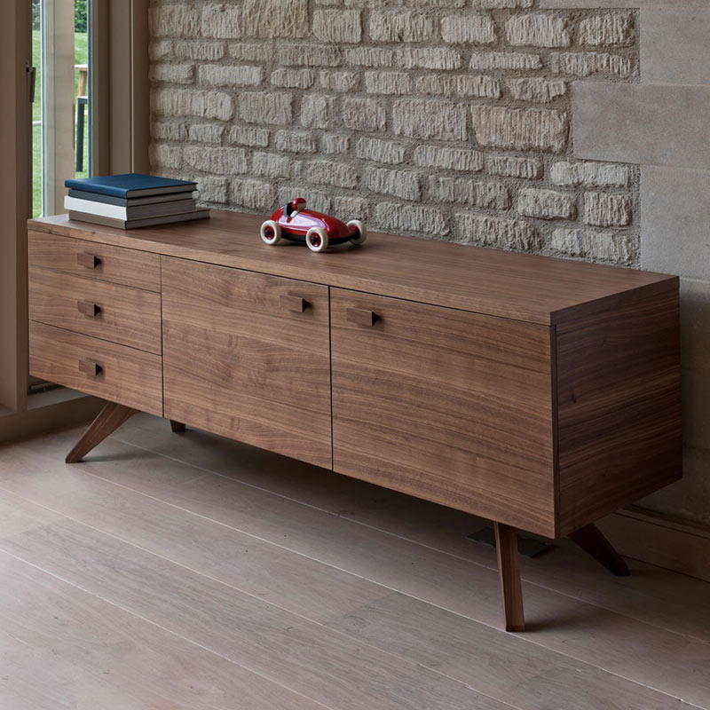 Case-Furniture-Cross-Sideboard-by-Matthew-Hilton-1 Olson and Baker - Designer & Contemporary Sofas, Furniture - Olson and Baker showcases original designs from authentic, designer brands. Buy contemporary furniture, lighting, storage, sofas & chairs at Olson + Baker.
