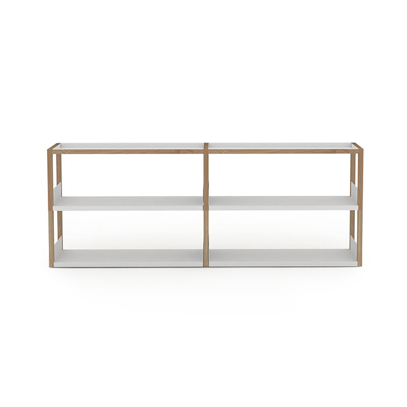 Case Furniture Lap 209cm Wide Shelving by Marina Bautier Olson and Baker - Designer & Contemporary Sofas, Furniture - Olson and Baker showcases original designs from authentic, designer brands. Buy contemporary furniture, lighting, storage, sofas & chairs at Olson + Baker.