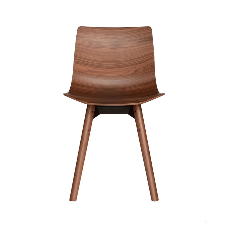 Case-Furniture-Loku-Chair-with-Wood-Base-by-Shin-Azumi-3 Olson and Baker - Designer & Contemporary Sofas, Furniture - Olson and Baker showcases original designs from authentic, designer brands. Buy contemporary furniture, lighting, storage, sofas & chairs at Olson + Baker.