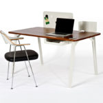 Case Furniture Mantis Desk by Samuel Wilkinson Olson and Baker - Designer & Contemporary Sofas, Furniture - Olson and Baker showcases original designs from authentic, designer brands. Buy contemporary furniture, lighting, storage, sofas & chairs at Olson + Baker.